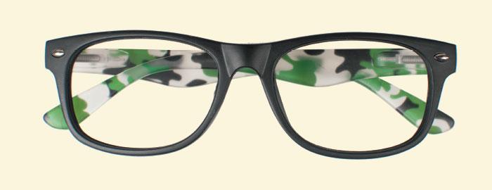 Occhiali da vista bicolore Charro bWj9S2